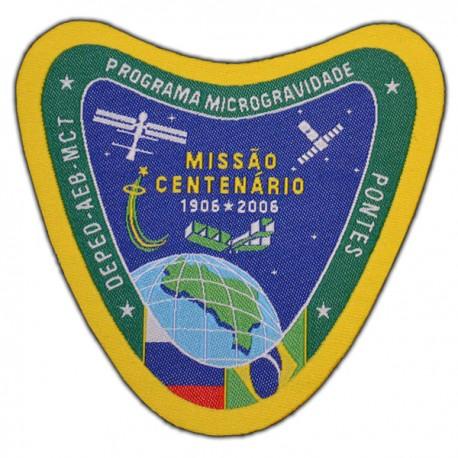PATCH BORDADO MISSÃO CENTENÁRIO