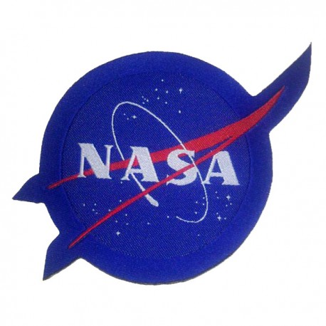 PATCH BORDADO LOGO NASA