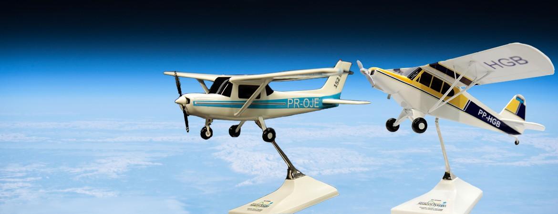 Maquetes de Aeronaves Personalizadas